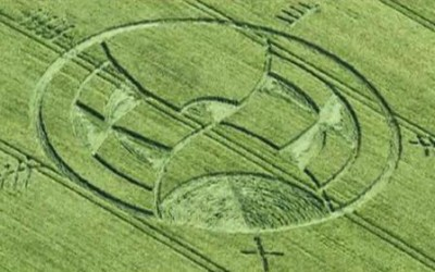 Enormes círculos encontrados no Reino Unido