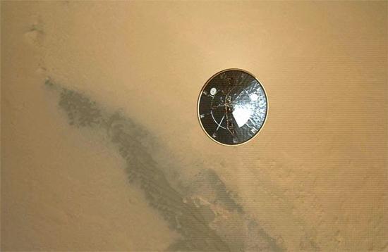 Descida do Jipe-Sonda Curiosity em Marte