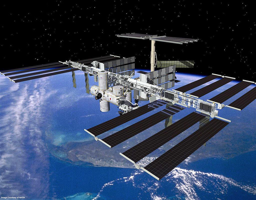 Nave espacial russa transporta fruta