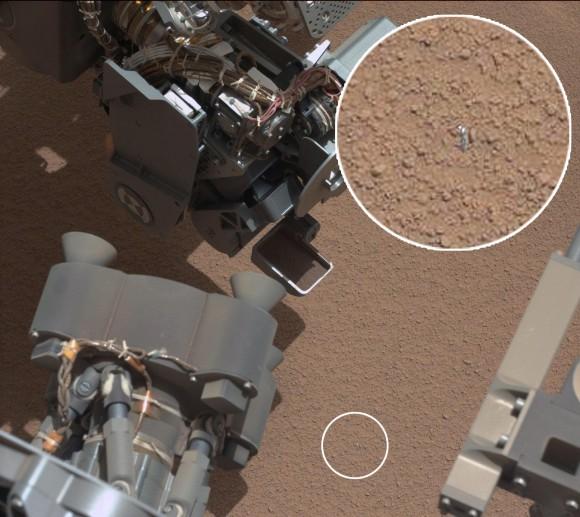 Jipe-sonda Curiosity encontra algo em Marte