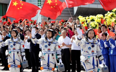 A China invade o espaço