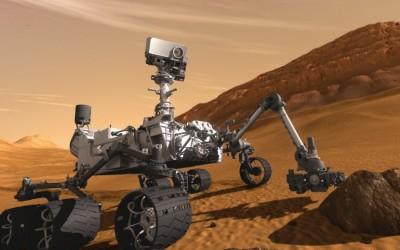 Curiosity fez primeiro furo em Marte