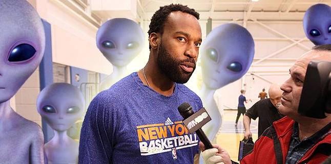 Jogador da NBA abduzido por extraterrestres