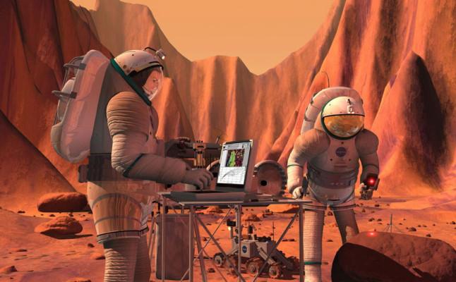 Rússia e EUA fazem parceria para enviar homem até Marte