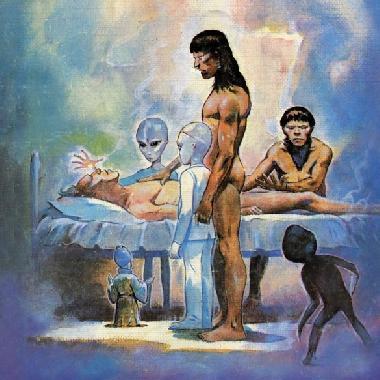 Extraterrestres curam quatro crianças de cancro