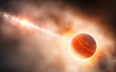 Observado pela primeira vez planeta em formação