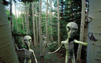 Os extraterrestres são enormes