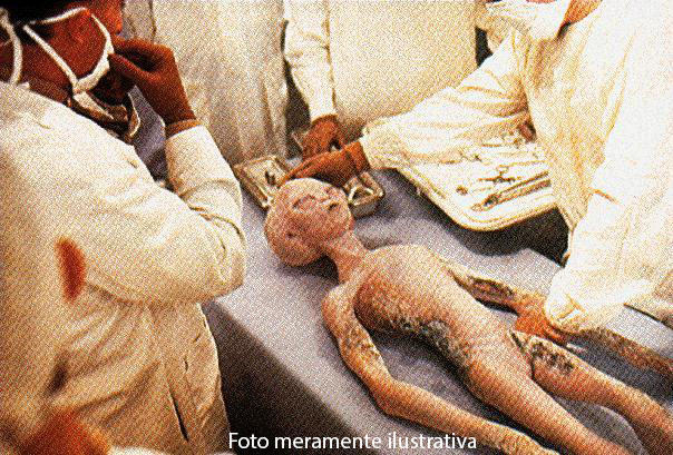 Dr. Greer afirma ter examinado um cadáver de um extraterrestre