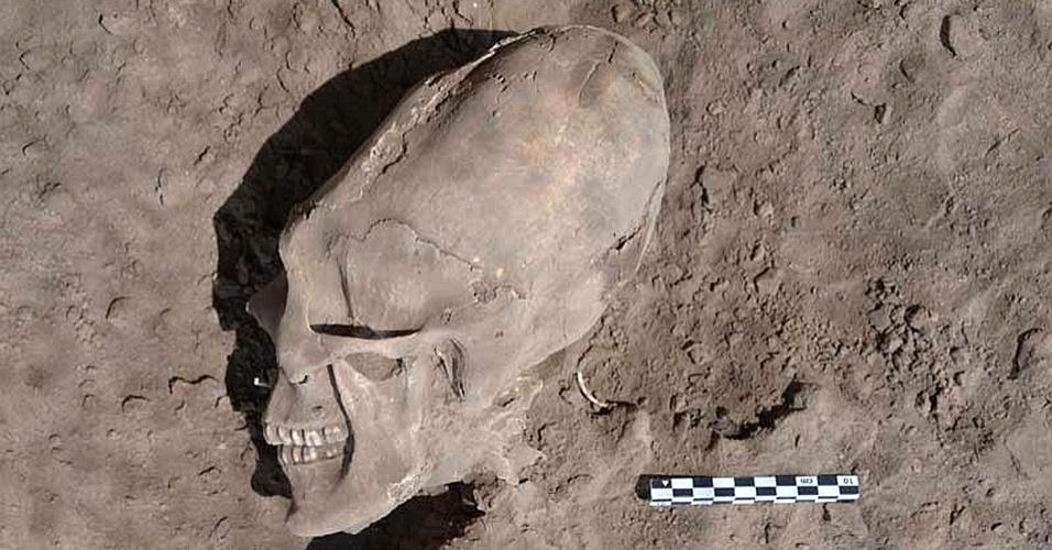 Esqueletos encontrados no México são esqueletos extraterrestres